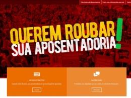 CUT lança site 'Reaja Agora' contra a reforma da Previdência de Bolsonaro